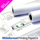 1 x Wide Format Inkjet Tracing Plotter Paper Roll 90gsm - for hp, canon, epson