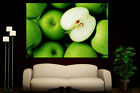 Canvas Giclee Home Wall Art Prints Green Apples Photo Colorf