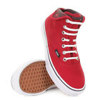 WOMENS VANS AUTHENTIC HI CHILLI PEPPER SNAKE WHITE TRAINERS SHOES SIZE 3-8