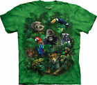 Jungle Friends Adult  Animals Unisex T Shirt The Mountain