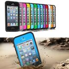 PC Waterproof Shockproof Dirt Dust Proof Hard Cover Case For Apple iPhone 5 5th