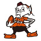 Cleveland Browns Brownie Elf Color Decal/Sticker Buy 2 get 3 Car Truck Free Ship on eBay