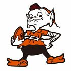 Cleveland Browns Brownie Elf Color Decal/Sticker Buy 2 get 3 Car Truck p34 $5.75 USD on eBay