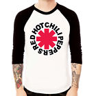 Red Hot chili Peppers rap funk rock Baseball t-shirt 3/4 sleeve Raglan Tee