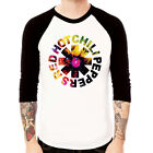 Red Hot chili Peppers-Galaxy funk rock Baseball t-shirt 3/4 sleeve Raglan Tee