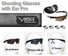 VISM / NcStar Shooters glasses with intergrated ear plugs