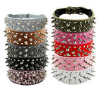 dog spike collars - Rivet Spiked Studded Collars Pet Dog Puppy Leather Collars Personalized Collar