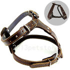 american bully harness - Dog Harness Leather pet Harnesses Pulling Bully Pit bull Large Breed dogs
