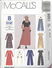 McCall's 8861  Misses' Dress and Jumpsuit   Sewing Pattern