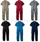 Mens DICKIES #33999 Short Sleeve COVERALLS Black Red Grey Khaki Blue