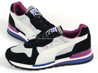 Puma TX-3 Nylon Wn's Black-Gray Violet Lifestyle Retro Running Shoes 355608 03