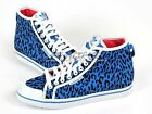 Adidas Honey Mid W Leopard Blue Bird/Black Fashion Originals Casual Shoes G95729