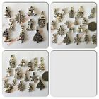 Tibetan Silver Christmas Xmas Charms - Choose from 3 Mixed Sets - 9, 13 or 15pcs