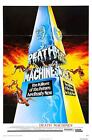DEATH MACHINES Movie Poster RARE 80's Horror VHS