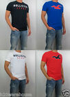 NWT HOLLISTER Men Muscle Slim Fit Newport Peninsula T Shirt Tee By Abercrombie