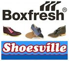 BOXFRESH LEATHER DIARBY AND MINETON LACE UP SHOES NEW BARGAIN!