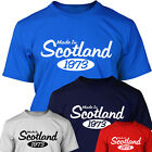 MADE IN SCOTLAND - Personalised Year Of Birth T SHIRT for Men