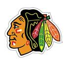 "Chicago Blackhawks Hockey (2) 10"" X 11"" Decals for Car Truck Cornhole Boards $17.99 USD on eBay"