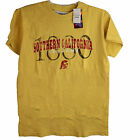 USC Trojans Men's Distressed Logo Tee Shirt High Quality Assorted Sizes