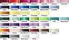 5m - 25mm or 38mm Single Sided Satin Ribbon.40 COLOURS for crafts & rosettes