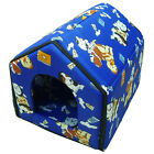 Pet Dog House Nest Waterproof base Collapsible Zip Carrier Puppy Cat Bed Kennel