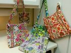 VERA BRADLEY HIPSTER LIME'S UP,FOLKLORIC,WATERCOLOR NWTS&FREE SHIP*