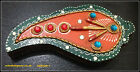 CHOPRA TRINKET BOX SINDOOR DIBBI TRADITIONAL INDIAN BOX HANDICRAFT PAINTED CARVE