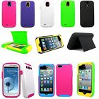 New Stowaway Wallet Hard Shell Stand Combo Case Cover For Many New Smart Phones