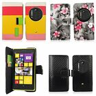 For Nokia Lumia 1020 New PU Leather Wallet Flip Pocket Card Cover Case Pouch