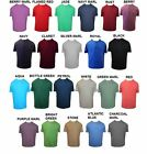 ESPIONAGE PREMIUM COMBED COTTON CREW NECK TEE SHIRT SIZE 2XL TO 8X, 24 COLORS