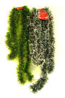 Christmas Garland Green Pine Roping or Snow Holiday Decor Drop Highlight Wrap