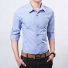 Long sleeve shirt T069 men's fashion leisure cultivate one's morality