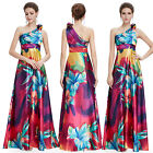 Ever Pretty US Women's  Elegant Printed Long Evening Party Formal Dresses 09623