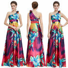 Ever Pretty Elegant Flower Print Evening Party Dress Formal Ball Gowns 09623