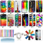 Amazing Colorful Painting Hybrid Hard Back Case Cover Skin For iPhone 4 4G 4S