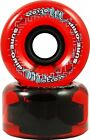 Red Sure Grip Motion Outdoor Roller Skate Wheels 78A 62mm or 65mm Set of 8