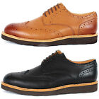 New Mooda Leather Wing Tip Casual Oxford Dress Mens Comfort Shoes Nova