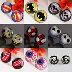 Wholesale Skull Red Lips Superman Batman Spiderman Spongebob Stud Ear Earrings