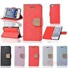 New Color Style Diamond Flip Stand PU Leather Case Cover Skin For iPhone 4 4G 4S