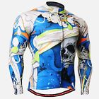 FIXGEAR CS-19b1 Men Long sleeve Cycling Jersey Road Mountain Bike Shirt Bicycle