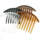 LARGE Clear plastic hair comb hair accessories Assorted 100mm