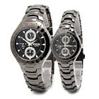 New Women's/Men's Sinobi Paint Quartz Fashion Waterproof Black Wrist Watch