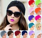 Turban Hat Cap Hijab Hairband Bandana Wrap Hair Loss Chemo Fancy Indian Plain
