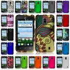 For ZTE Solar Z795G Hard Snap on Two Piece Cover Case