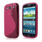 NEW SAMSUNG GALAXY S3 TPU GEL CASE + FREE SCREEN PROTECTOR