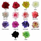 12 PCS Artificial Silk Rose Flower Heads Wholesale Craft Decoration Pick Color
