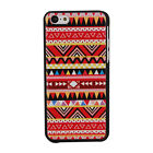 New Red Tribal Stripes Rigid Plastic Shell Case Cover Skin For iPhone 5 5G 5S