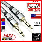AUX AUXILIARY 3.5mm Cable Male to Male Car Audio Cord iPhone Samsung HTC 6FT 4FT