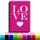 Quote Art Love Canvas Print Box Framed Picture