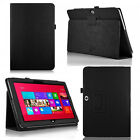 Folding STAND PU LEATHER CASE COVER HOLDER FOR Microsoft Surface RT / RT 2